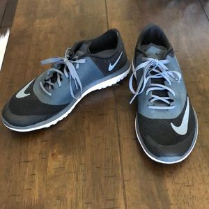 Black and Blue Nike Fitsole